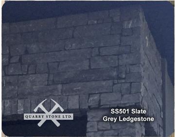 SS 501 Slate Grey Ledgestone