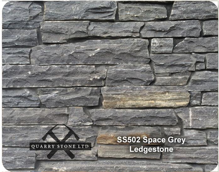 SS 502 Space Grey Ledgestone
