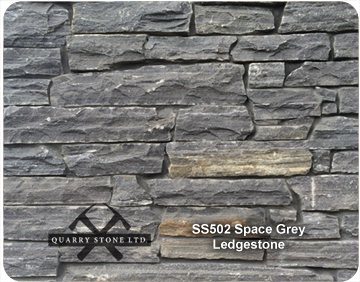 SS 502 Space Grey Ledgestone