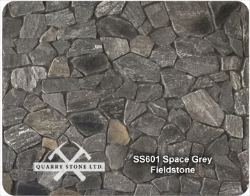 SS601 Space Grey Fieldstone
