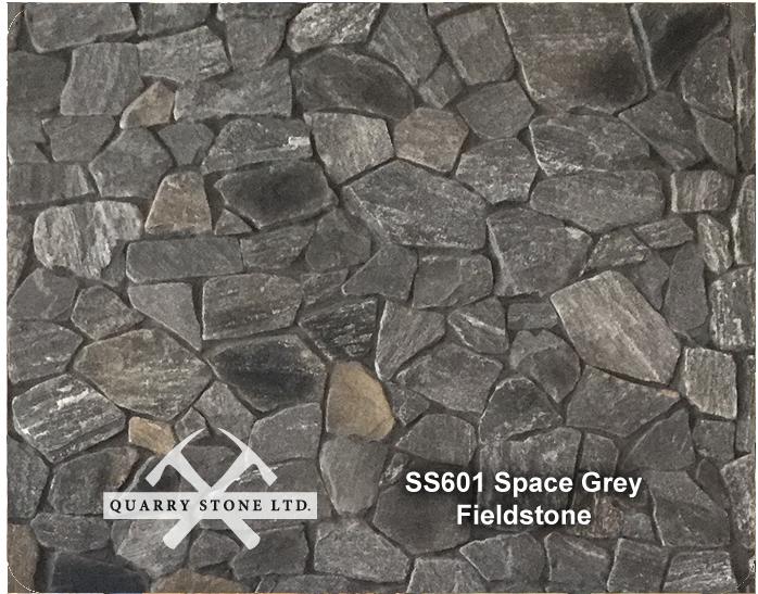SS601 Space Grey Fieldstone